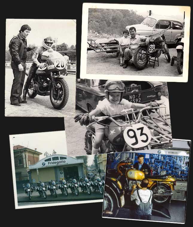 Storia Fridegotto Novara abbigliamento moto