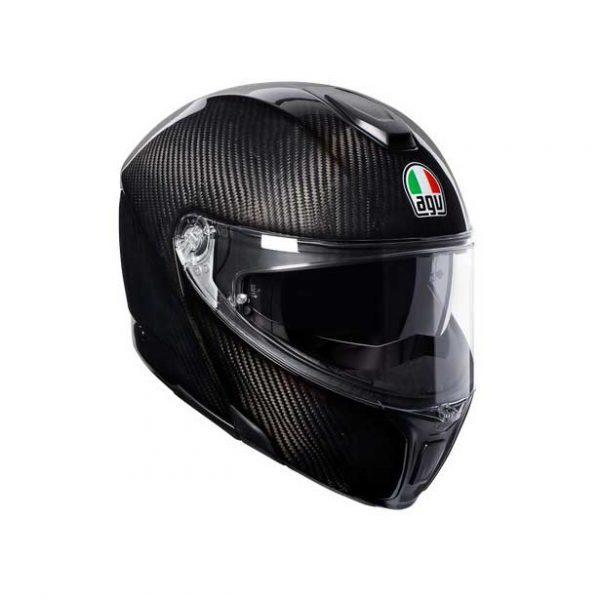 Casco moto AGV SPORTMODULAR MONO E2205 Glossy Carbon