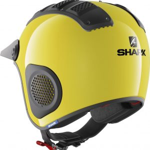 Casco moto Shark ATV-Drak Blank Casco off-Road Giallo