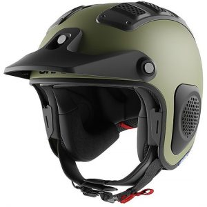 Casco moto Shark ATV-Drak Blank Casco off-Road Verde Matt
