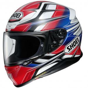 Casco moto Shoei Nxr Rumpus Tc-1 Rosso Blu