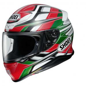 Casco moto Shoei Nxr Rumpus Tc-4 Rosso Verde