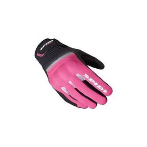 Guanti moto donna Spidi Flash Ce Lady Nero Fucsia