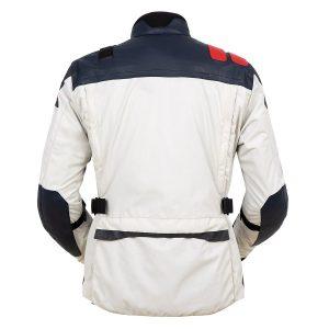Giacca moto uomo T.UR J-One Bianco